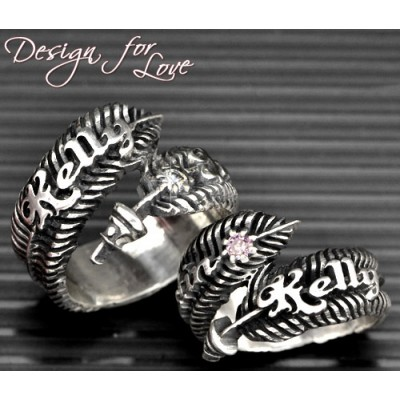 Luxury Feather Series - With Name Jewellery - Handcrafted & Custom-Made