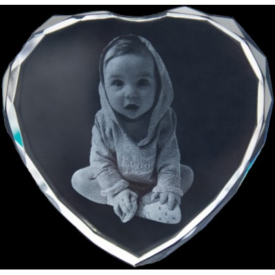 Photo Engraved Crystals In Custom Made Shapes - Handcrafted & Custom-Made