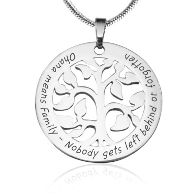Personalised Ohana Tree - Sterling Silver *Limited Edition - Handcrafted & Custom-Made