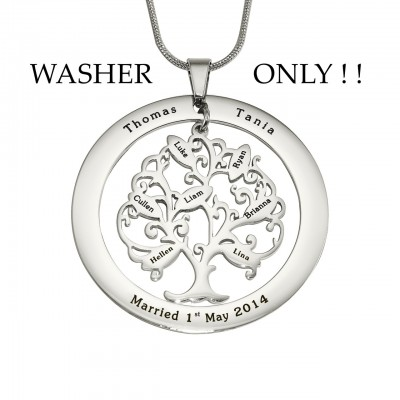 Personalised ADDITIONAL Tree of My Life WASHER ONLY - Handcrafted & Custom-Made
