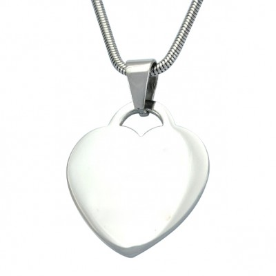 Personalised Heart of Necklace - Handcrafted & Custom-Made