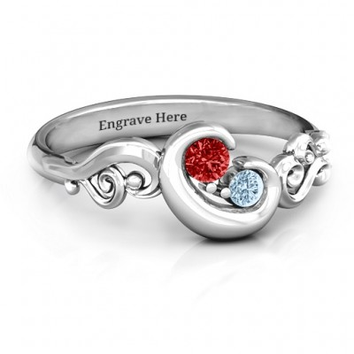 Cradle of Love  Ring - Handcrafted & Custom-Made