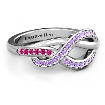 Delicacy Infinity Ring - Handcrafted & Custom-Made