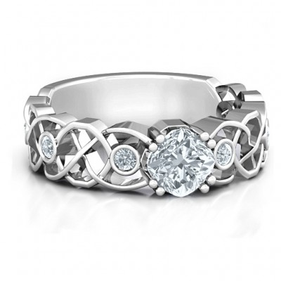 Elizabeth Ring - Handcrafted & Custom-Made