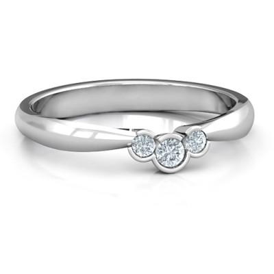 Selena Band Ring - Handcrafted & Custom-Made