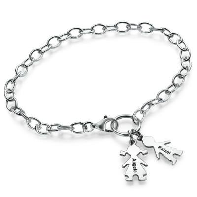 Mum Charm Bracelet/Anklet - Handcrafted & Custom-Made
