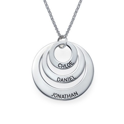 Jewellery for Mums - Three Disc Necklace - Handcrafted & Custom-Made