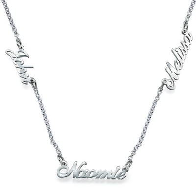 Personalised Jewellery for Mums - Multiple Name Necklace - Handcrafted & Custom-Made