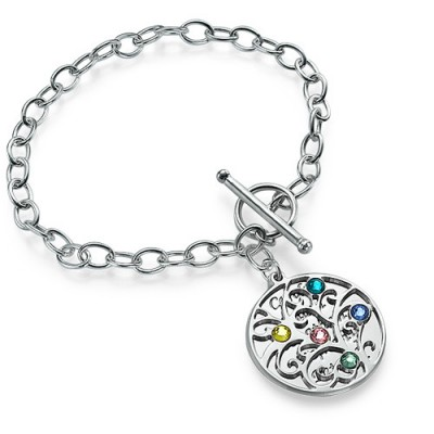 Silver Tree of Life Bracelet - Filigree Style - Handcrafted & Custom-Made