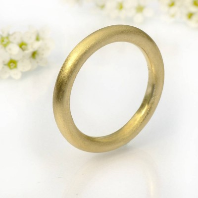 Mens Halo Wedding Ring, 18ct Gold - Handcrafted & Custom-Made