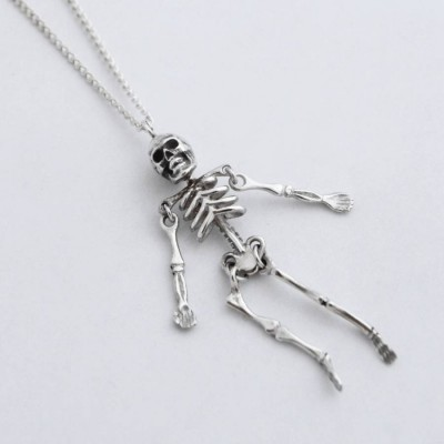 Skeleton Pendant - Handcrafted & Custom-Made